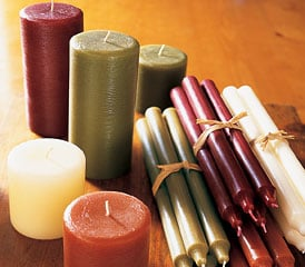 Off to Market: Manly Candles