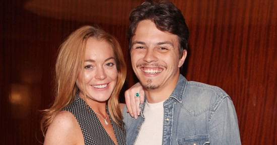 Lindsay Lohan Did NOT Chuck Her Fiancé's Phone Into the Sea
