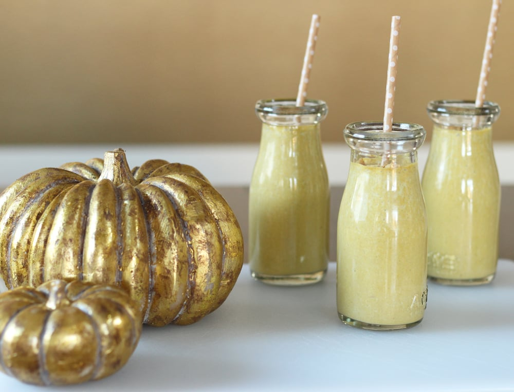 Pumpkin and Spinach Smoothies