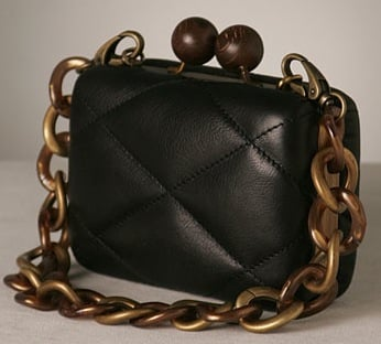 The Bag to Have: Erva Chain Quilted Box Pouchette