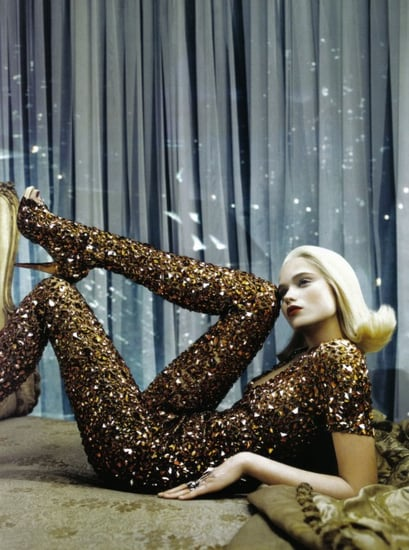 Freaky or Fabulous: Super Sparkly Bodysuit a la McQueen