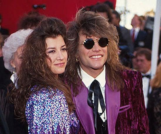 Jon Bon Jovi and Dorothea Hurley, 1991
