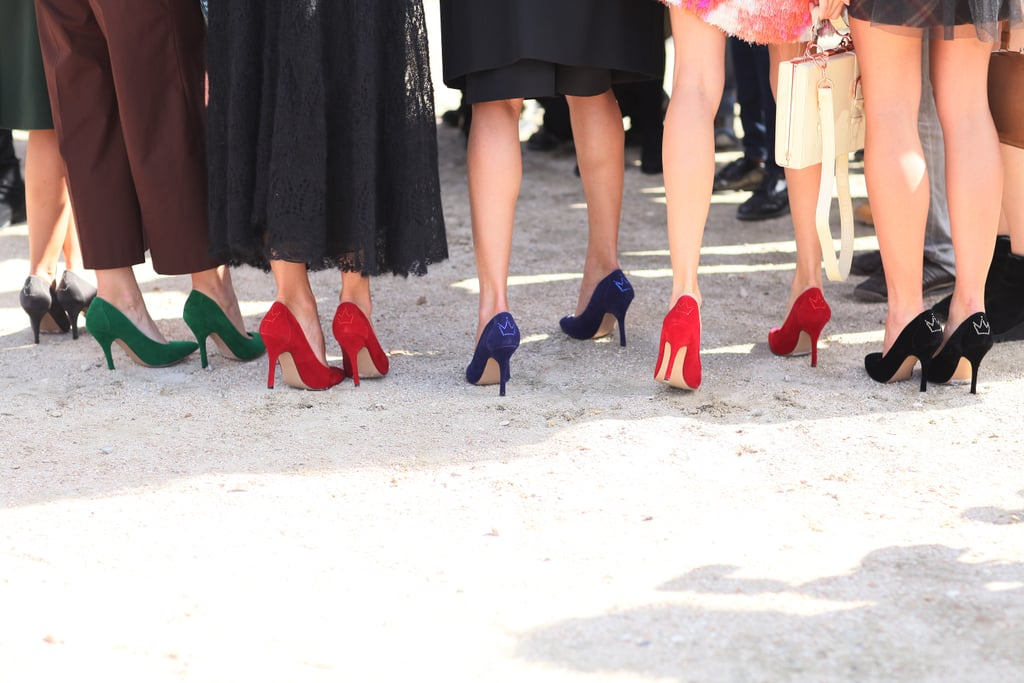 A brigade of pointed-toe pumps — I think we can safely say the trend is here to stay.
