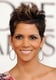 Halle Berry smiled Sunday night for the cameras.