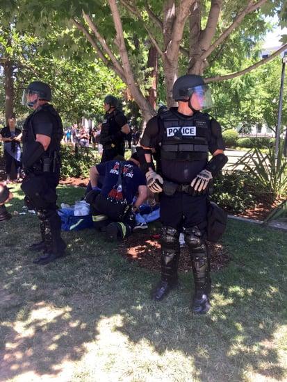 Neo-Nazi Rally At California Capitol Turns To Chaos