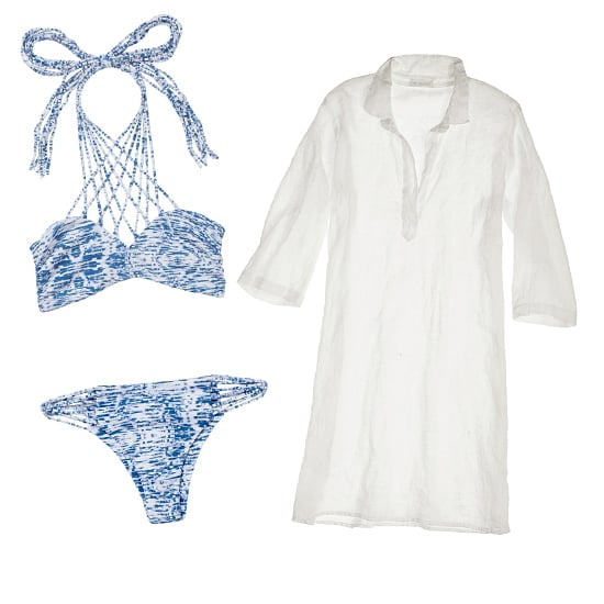 Swimsuit and Cover-Up Pairings
