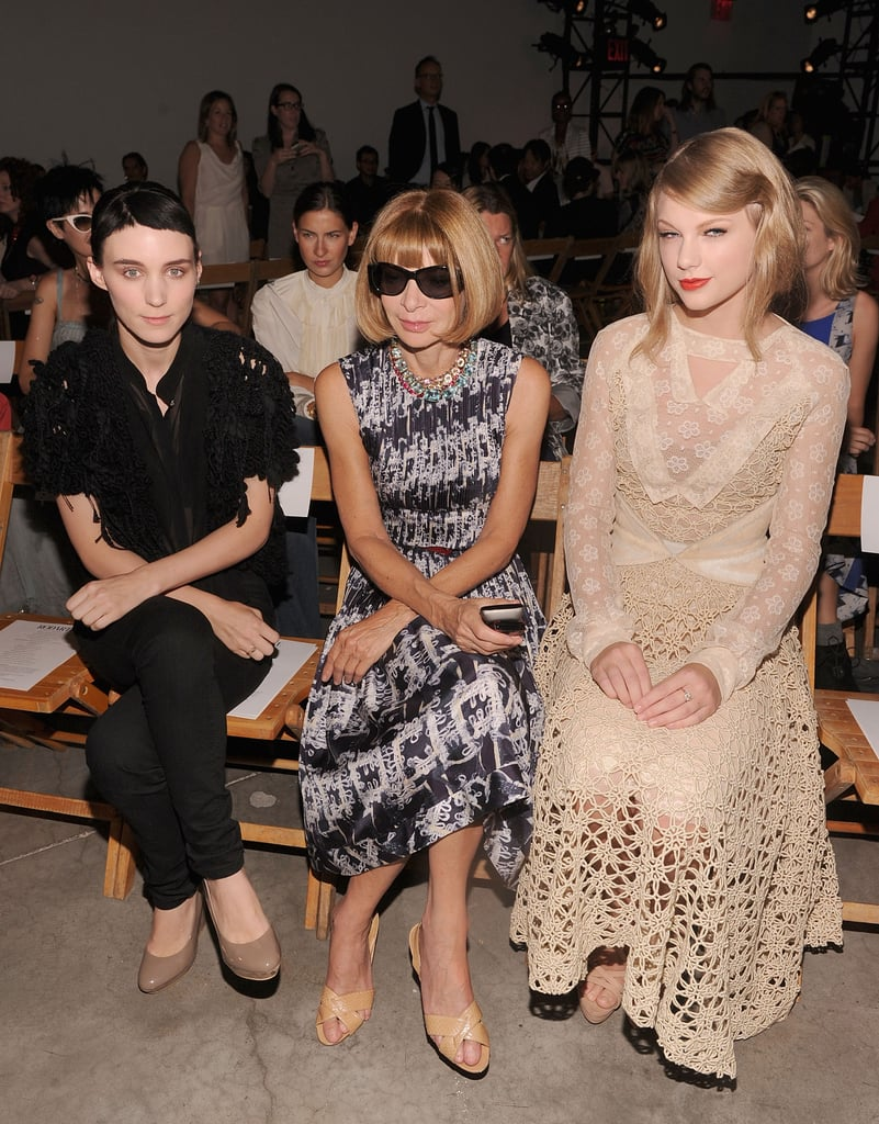 Rooney Mara and Taylor Swift
