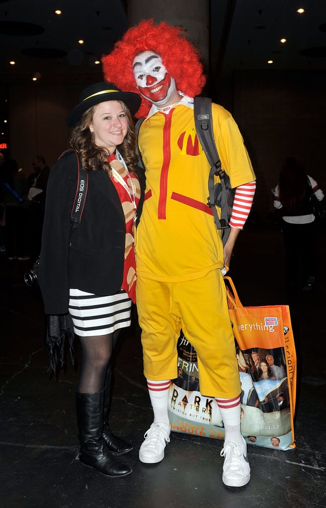 Hamburglar and Ronald McDonald