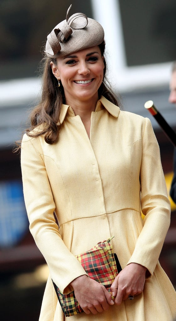 Kate Middleton smiled at the Thistle Ceremony in Scotland.