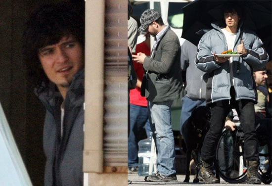 Photos of Orlando Bloom and Mark Ruffalo on the Set of Sympathy for Delicious 2009-01-28 08:30:00