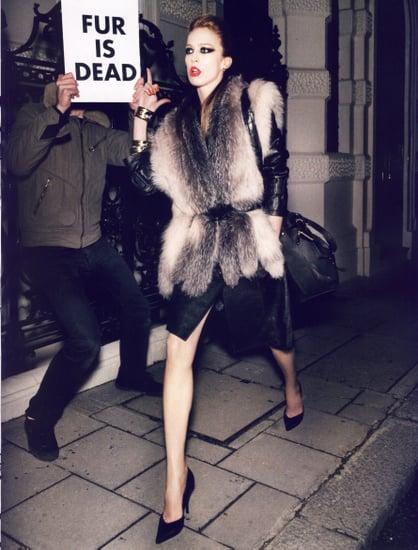 Paris Vogue's Carine Roitfeld Stands Up Against Anti-Fur