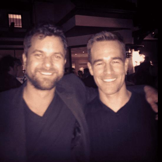 James Van Der Beek and Joshua Jackson Reunion