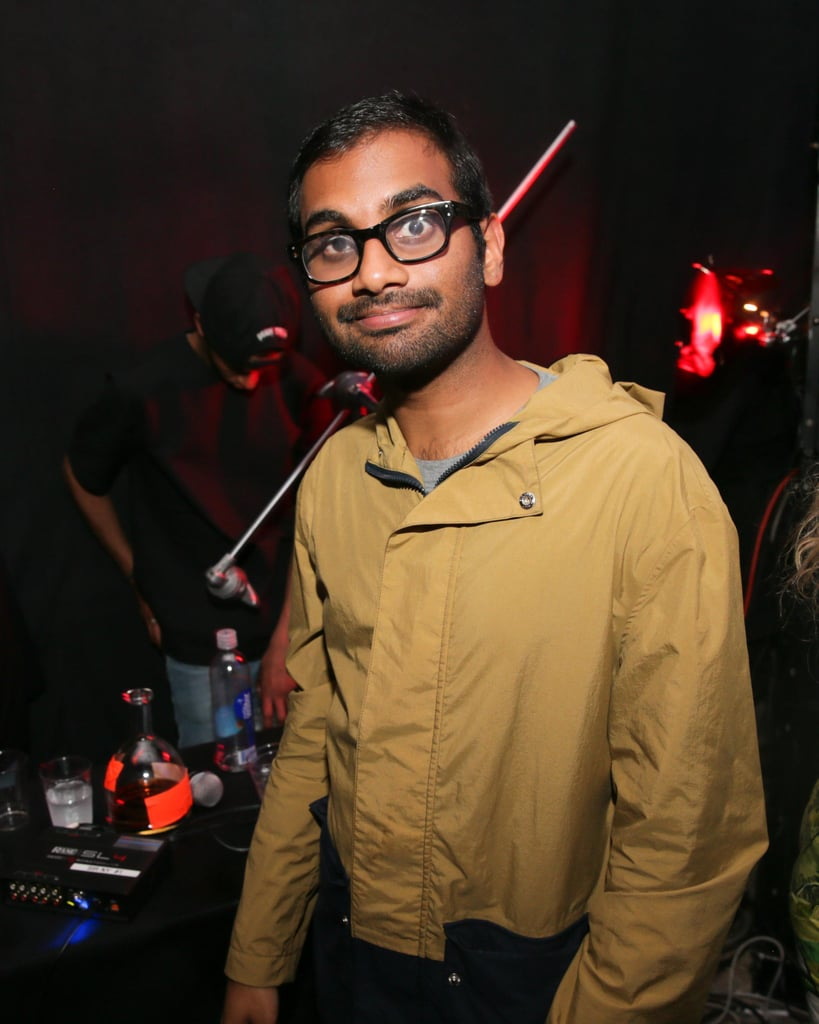 Aziz Ansari dropped by the event.