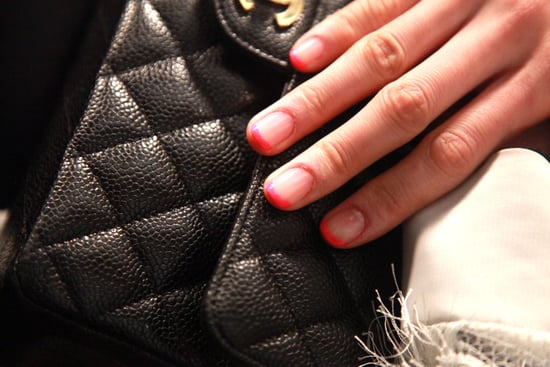 Fall 2011 Nail Trends - Neon French Manicure