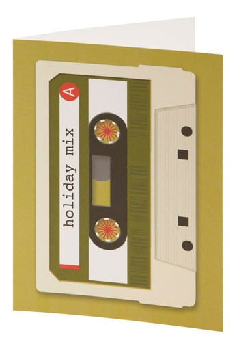 Mixed Tape Holiday Cards