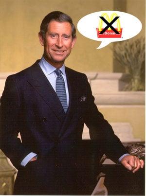 Prince Charles vs. McDonald's: Should McD's Be Banned ...