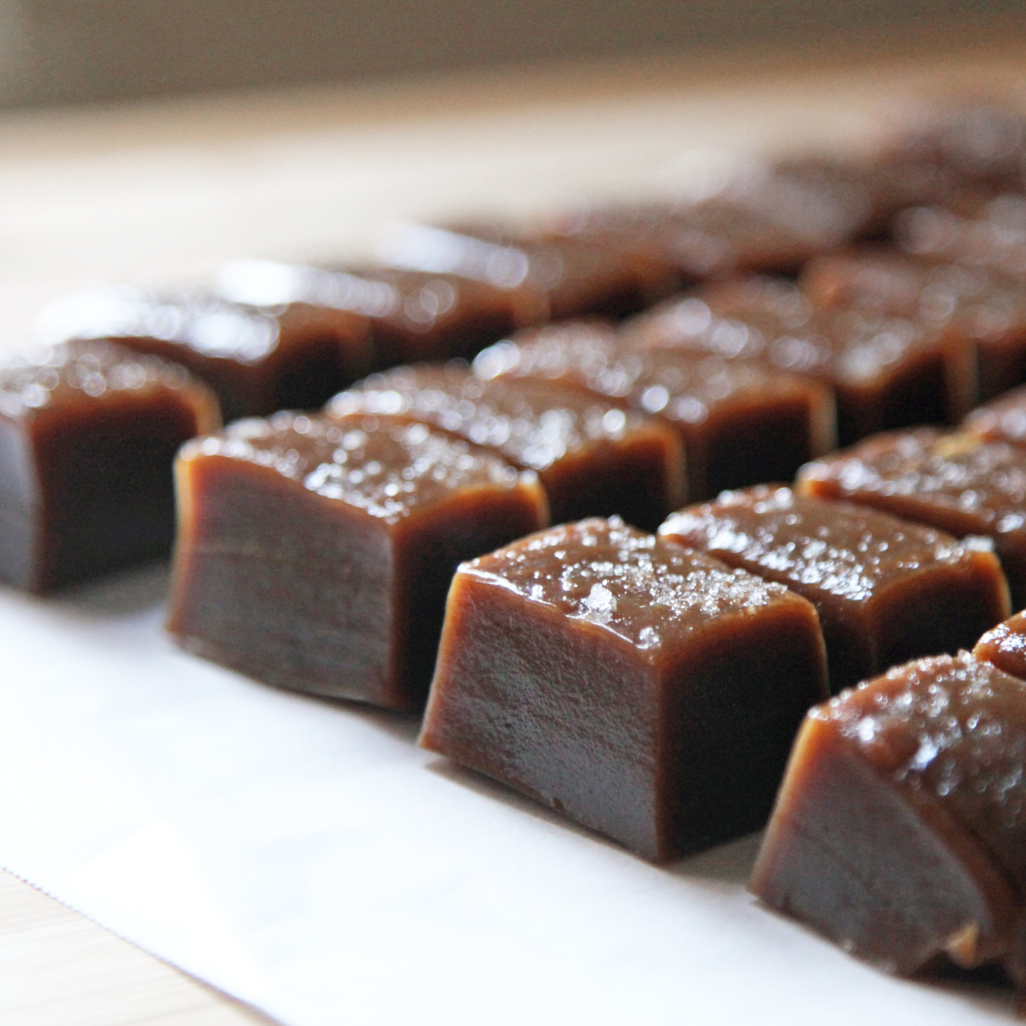 Salted Chai Caramels