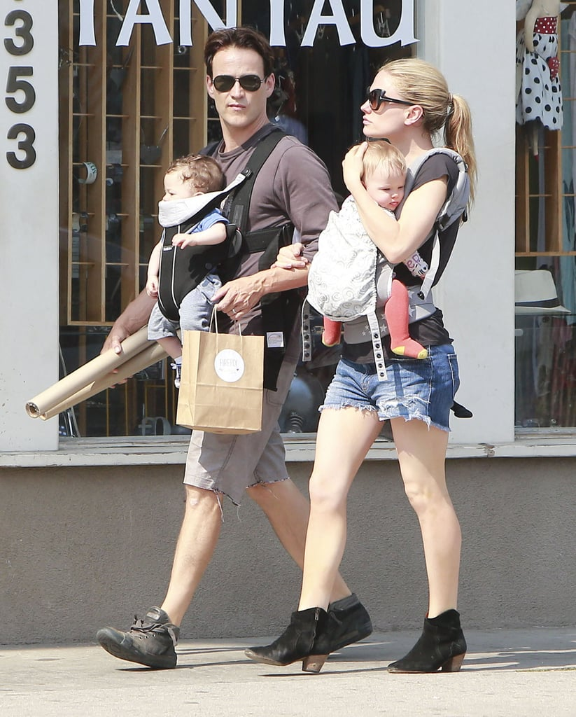 Anna and Stephen Get in Time With Their Twins