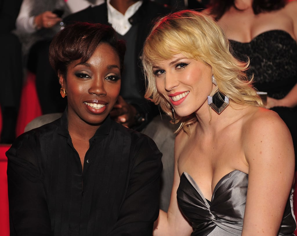 Estelle and Natasha Bedingfield caught the show in 2010.