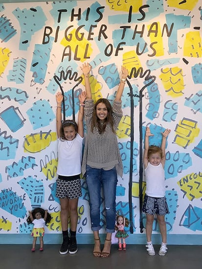 Jessica Alba's Daughters Visit Her At Work: 'They've Seen the Growth' of The Honest Company