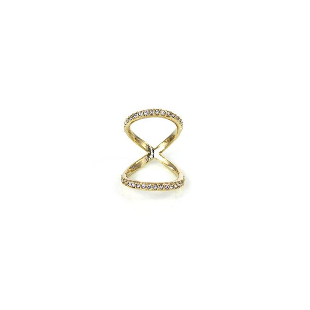 Sparkle just as much as the tinsel on the tree with this Hysteric Co. ring ($30).