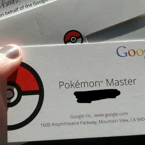 Pokemon Master of Google Maps