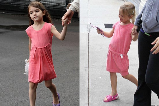 Photos of Suri Cruise and Violet Affeck