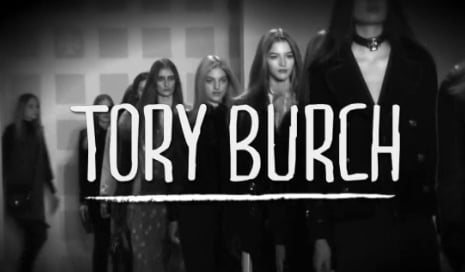 Tory Burch Fall 2011 Collection Runway Video