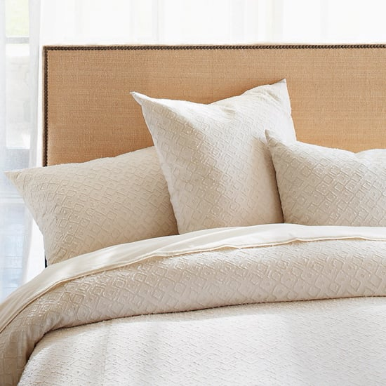 Nice and New:  West Elm's Nailhead Upholstered Headboard