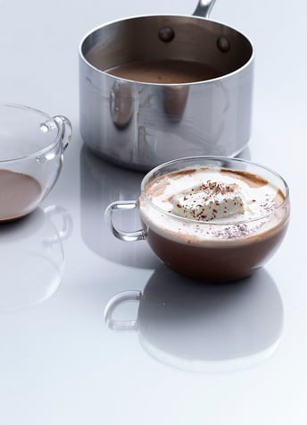 Grasshopper Hot Chocolate