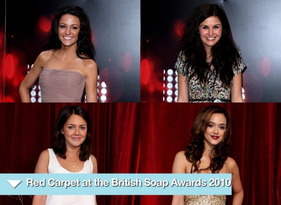 Photos of Celebrities at the 2010 British Soap Awards in London