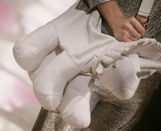 Unicorns Spotted at Paris Fashion Week . . . Or Is That a Dino?!