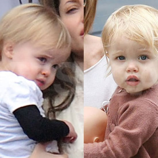 Pictures of Vivienne and Shiloh Jolie-Pitt