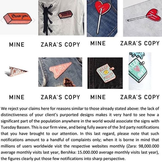 Zara Under Fire For Allegedly Copying Artist And Not Giving A You-Know-What
