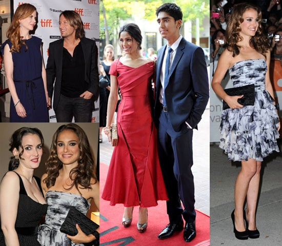 Pictures of Natalie Portman, Freida Pinto, and Nicole Kidman at the Toronto Film Festival