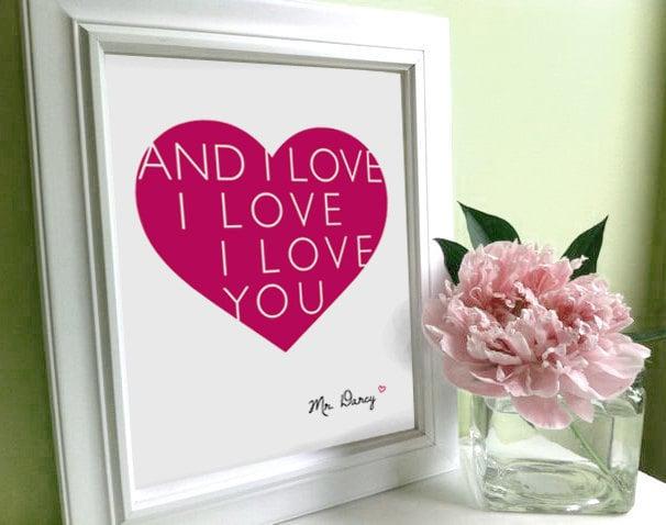 And I love I love I love you ($12-$34)