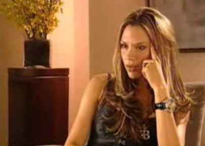 Video of Victoria Beckham
