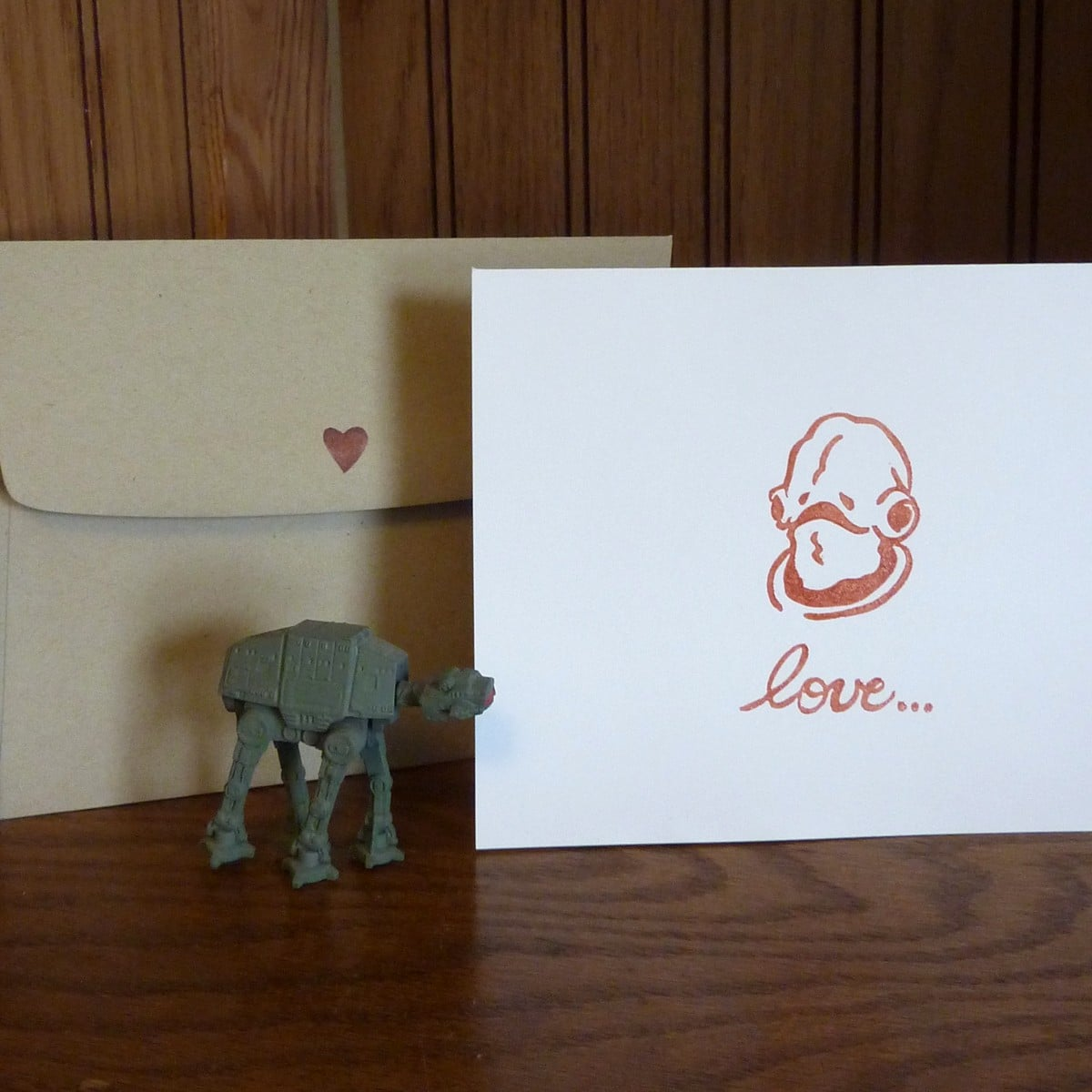 Admiral Ackbar's broken heart makes him skeptical of love ($3), but you don't have to be.