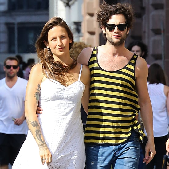 Penn Badgley's Girlfriend 2014