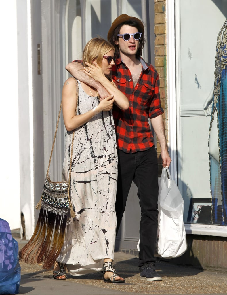 """Tom and Sienna Show Love in London and Talk About Their Future """"Army"""""""