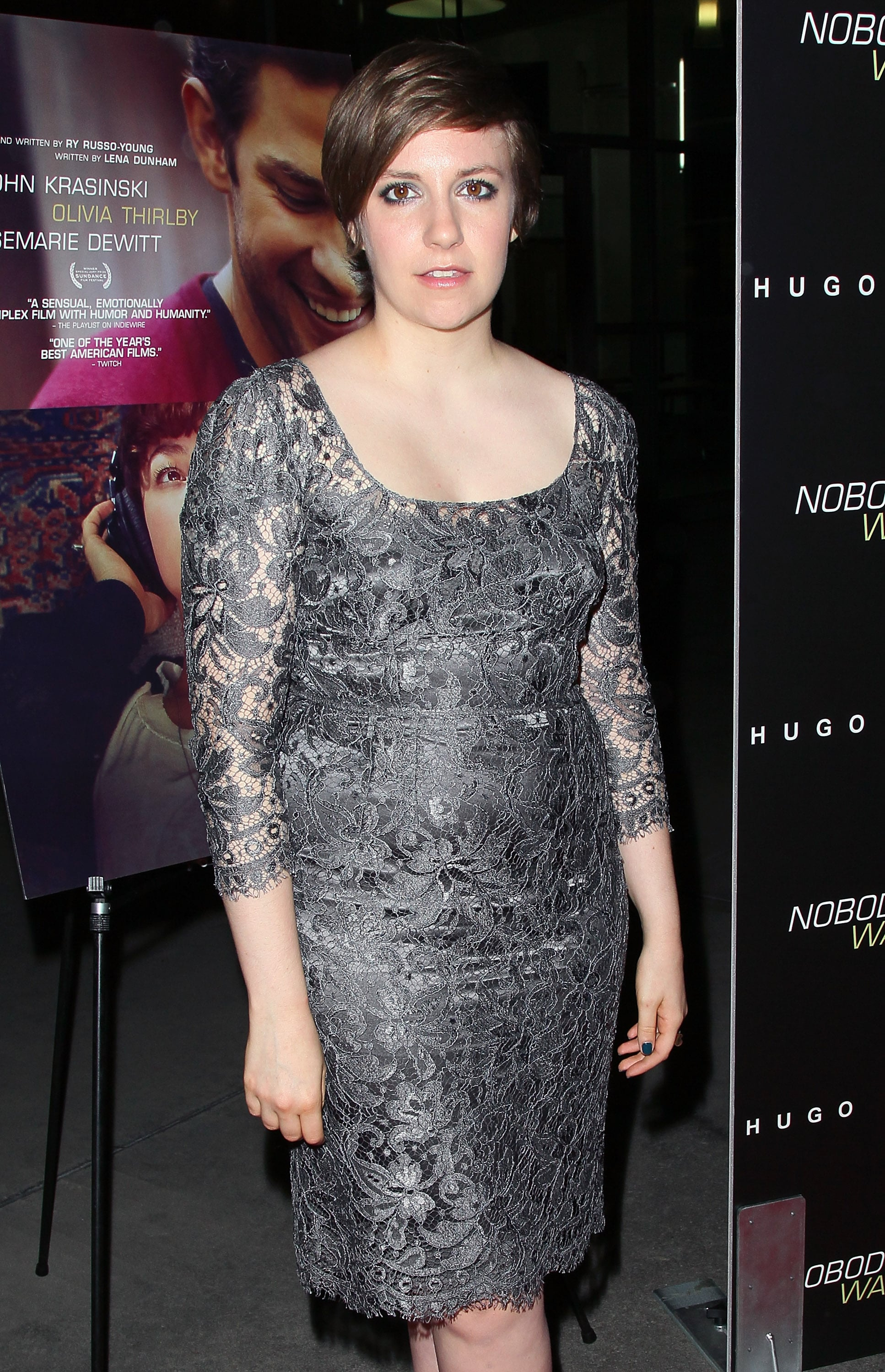 Lena Dunham Presents a New Project to Isabel, Nicky, and Pregnant Malin