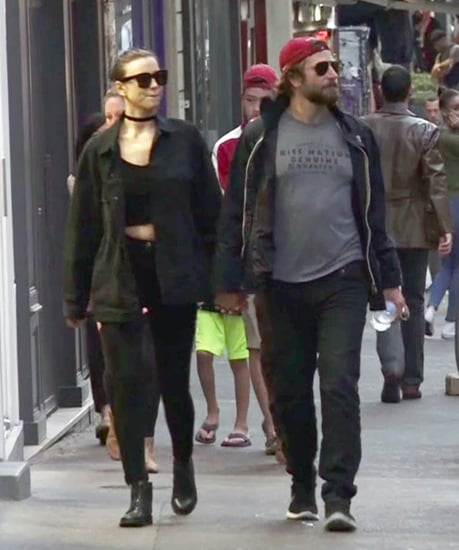 Bradley Cooper and Irina Shayk at the Wimbledon semifinals and kissing on the street in Paris