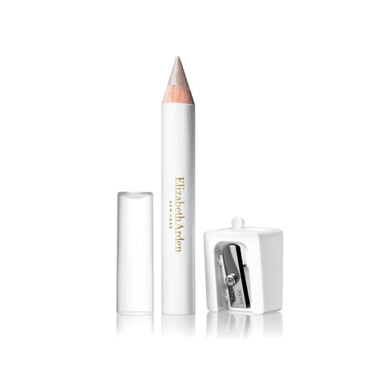 Spring usually equates to bold colors in fashion and beauty, but this Elizabeth Arden Bold Eye Pencil in Platinum Glow ($20) is my personal go-to. The off-white color brightens eyes when I apply to the lower waterline. And I'm desperately going to need an eye-opening illusion once the clock jumps forward this month. — JC