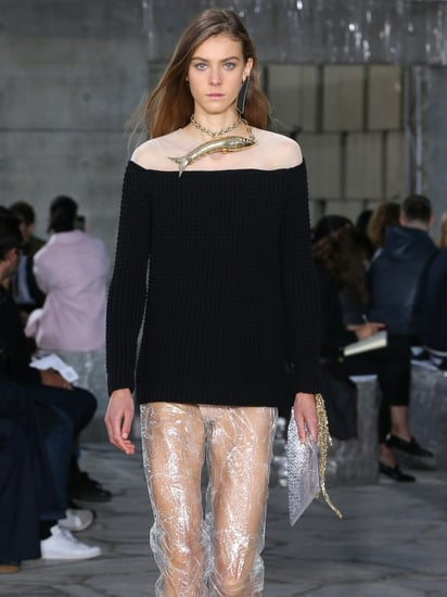 Loewe Just Made See-Through Pants a Thing for Spring 2016