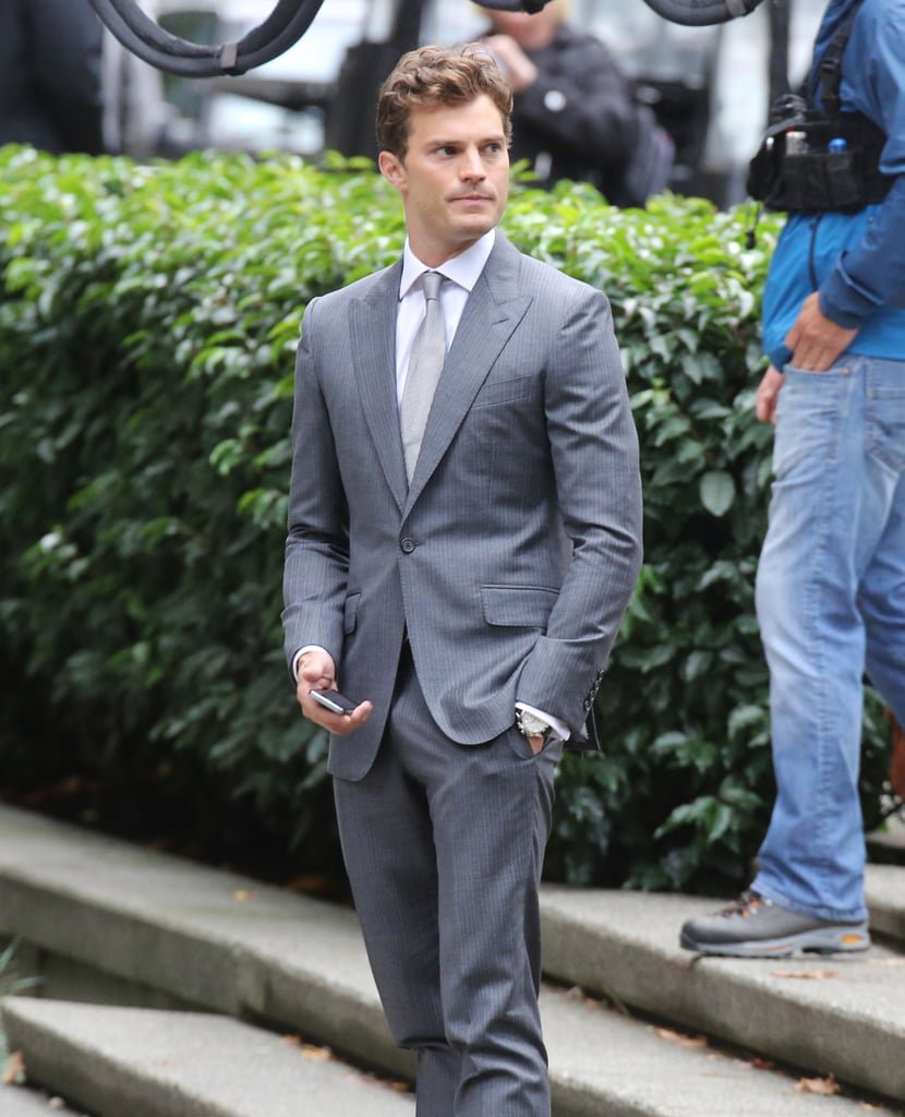 50 shades of grey movie set photos popsugar entertainment. Black Bedroom Furniture Sets. Home Design Ideas