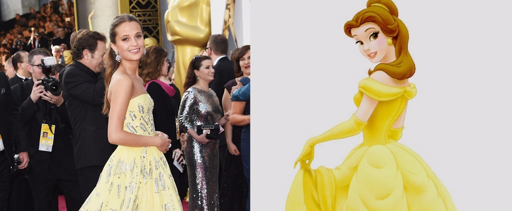 7 Stars Who Channelled Disney on the Oscars Red Carpet