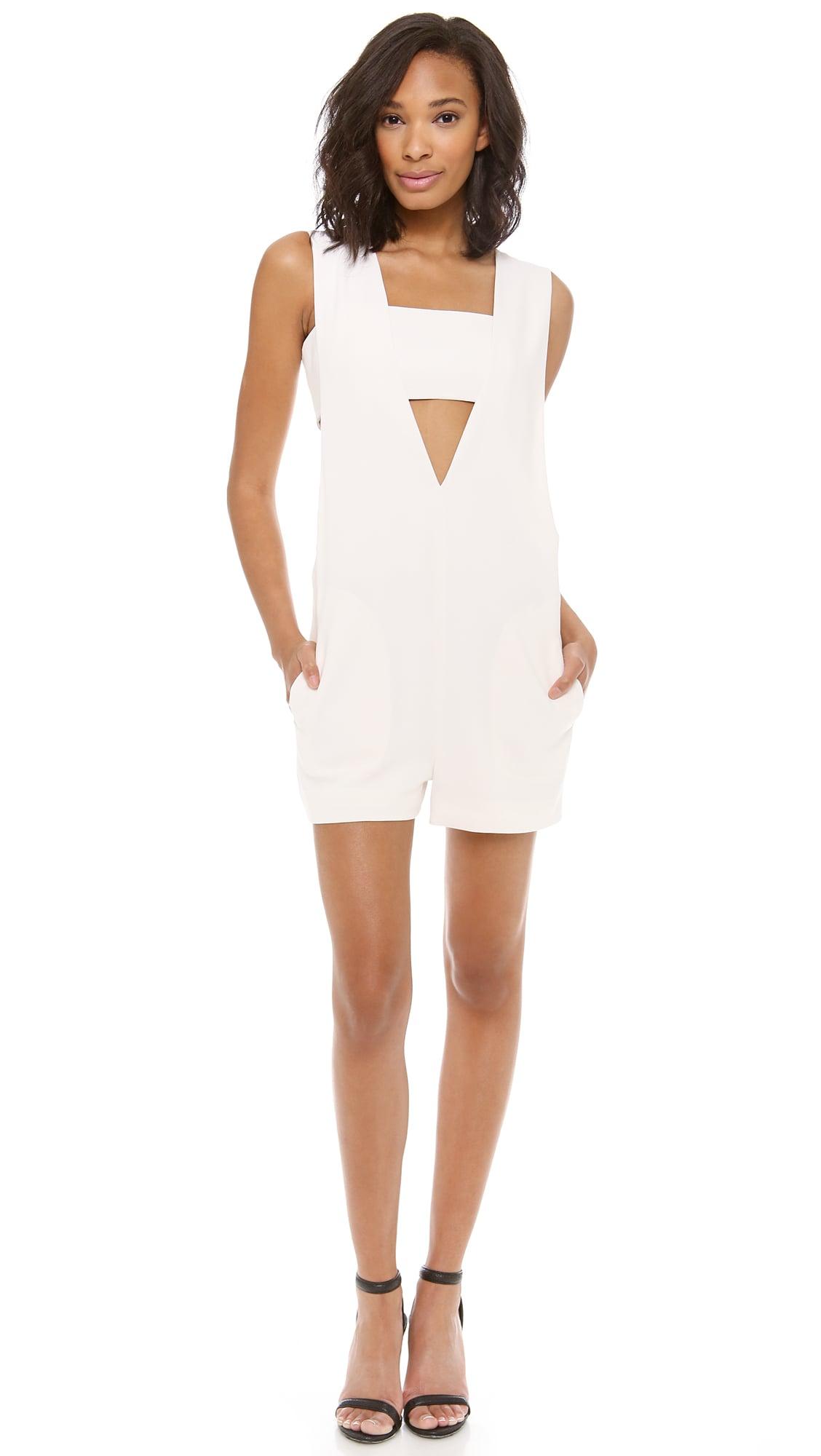 Alexander Wang Low V Romper