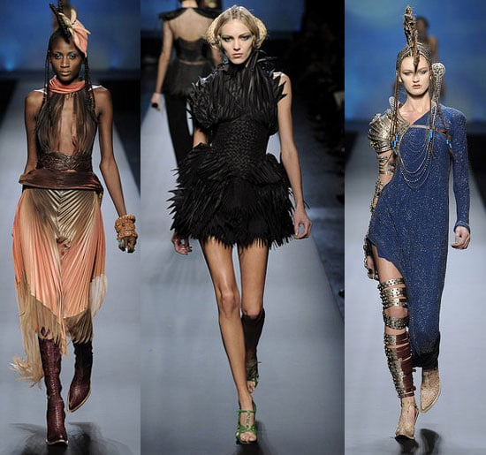 Jean Paul Gaultier Spring Couture 2010 collection