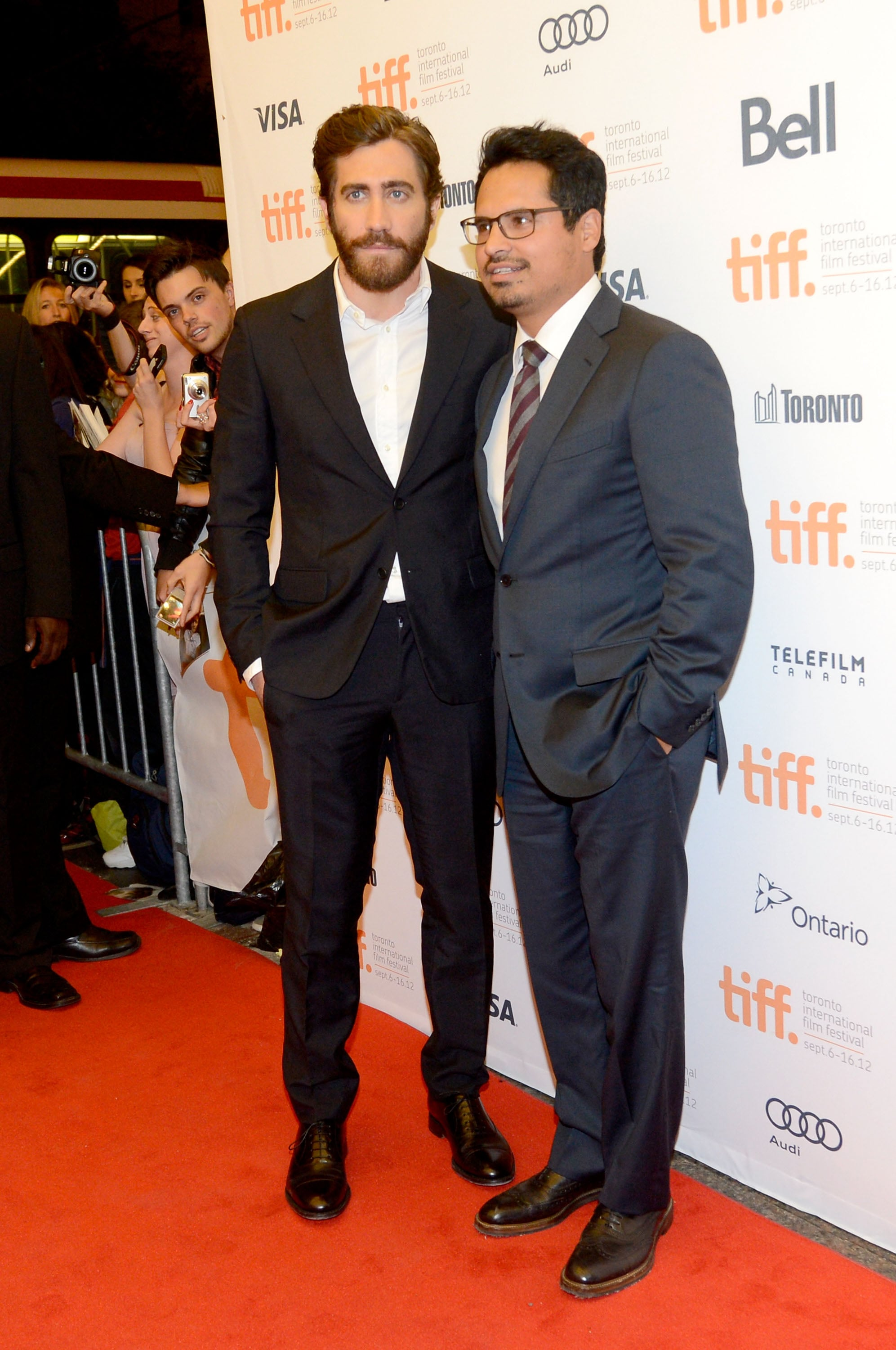 Jake Gyllenhaal Teams Up With Anna Kendrick at TIFF