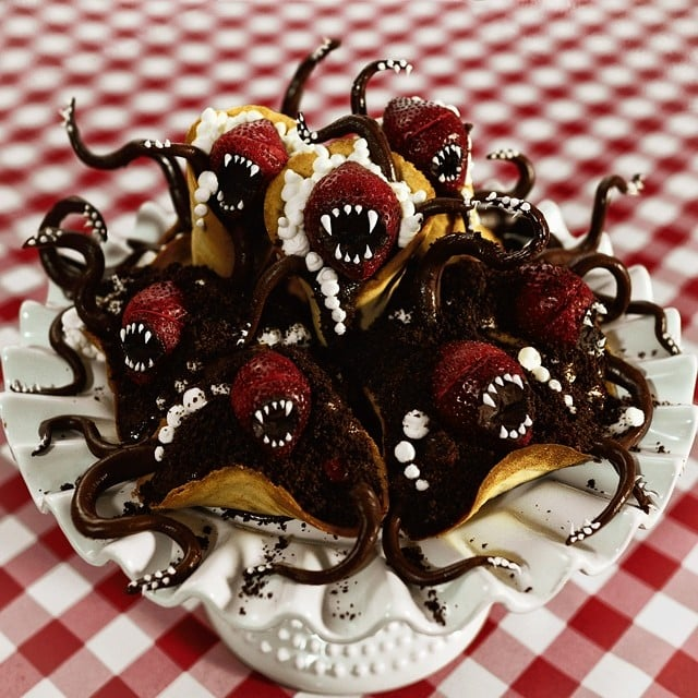 Strawberry-Chocolate Monsters